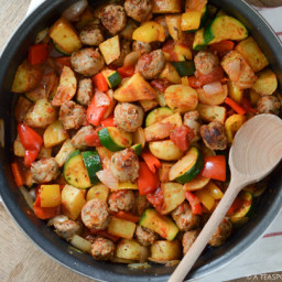 Italian Sausage and Vegetable Skillet