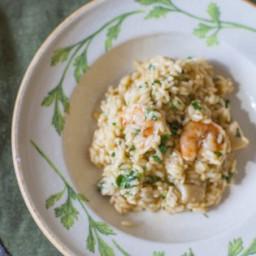 Italian Shrimp and Scallop Risotto Recipe