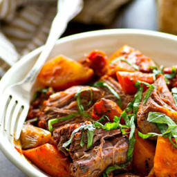Italian-Style Pot Roast with Root Vegetables