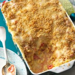 Italian Three-Cheese Macaroni Recipe