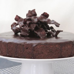 Italian Torte Caprese with Chocolate-Covered Bacon