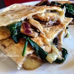 Italian Vegetable and Mozzarella Toasted Wrap