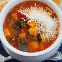 Italian Zucchini Soup (Giambotte)