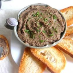 Italian Chicken Liver Pate' Spread - pressure cooker recipe