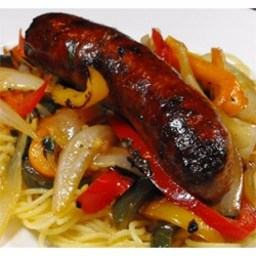 Italian Sausage, Peppers, and Onions
