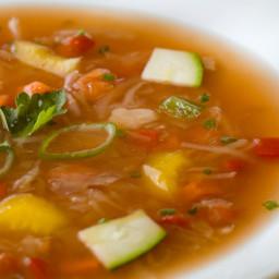 Jacques Pépin's Instant Vegetable Soup
