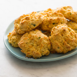 Jalapeno and Cheddar Cornmeal Biscuits