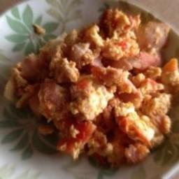 Jalapeno Bacon Scrambled Eggs