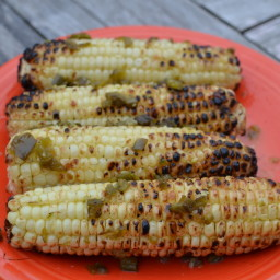 Jalapeno Butter Grilled Corn
