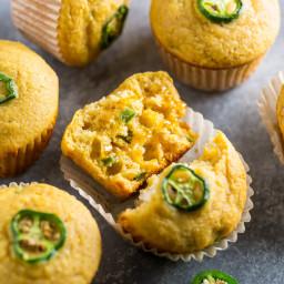 Jalapeno Canned Corn Muffins