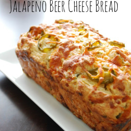 Jalapeno Cheese and Beer Bread