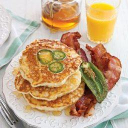 Jalapeño-Cornmeal Pancakes