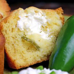 Jalapeno Popper Cornbread Muffins