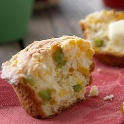 Jalapeño Cheddar Muffins