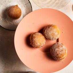 Jam-Filled Challah Doughnuts