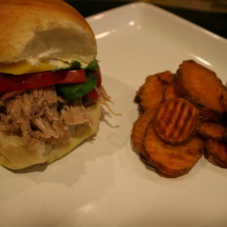 Jamaican Jerk Pork Sandwiches