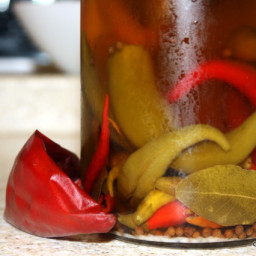 Jamie Oliver's Pickled Peppers