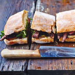 Jamie's steak sandwich