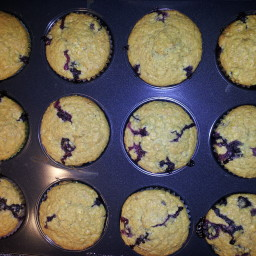 Jane's Blueberry Oat Muffins