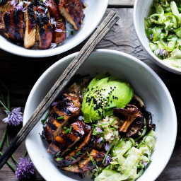 Japanese Farm-Style Grilled Teriyaki Chicken Bowl