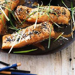 Japanese-inspird Salmon