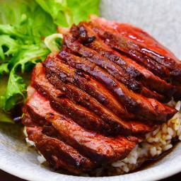 Japanese Steak Rice Bowl