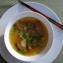 Japanese-style daikon soup