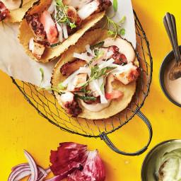Japanese Tako Tacos