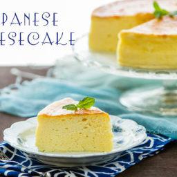 Japanese Cheesecake (Souffle Cheesecake)