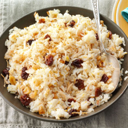Jasmine Rice with Coconut and Cherries Recipe