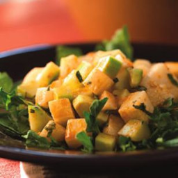 Jícama and Cucumber Salad with Red Chile Dressing