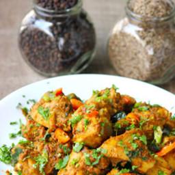 Jeera pepper chicken - restaurant style recipe