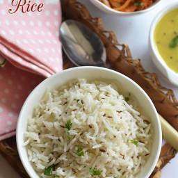 Jeera Rice Recipe - Ingredients
