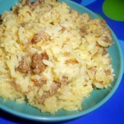 Jekyll Island Rice withSausage
