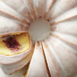 Jelly Doughnut Bundt Cake