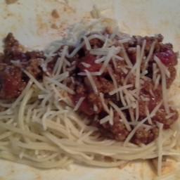 Jennys Spaghetti & Meat Sauce