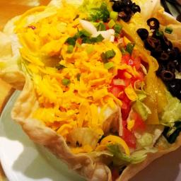 Jen's Taco Salad Supreme