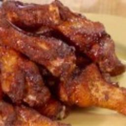 Jerk Wings with Rum-Brown Sugar Glaze