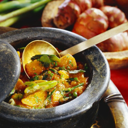 Jerusalem Artichoke Stew