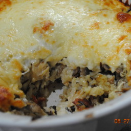 Jodie's chicken and rice casserole
