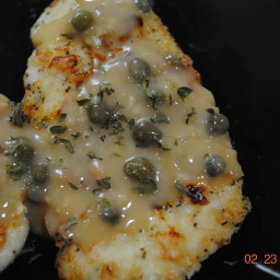 Jodie's light lemon chicken piccata