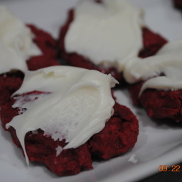 Jodie's red velvet cookies