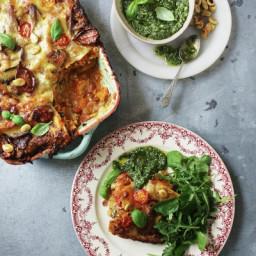 John Bishop's ultimate veggie lasagne