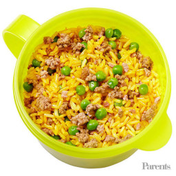 Josh Capon¿s Brown Spanish Rice with Ground Beef