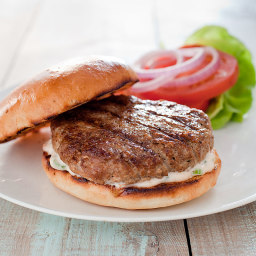 Juicy Grilled Turkey Burgers
