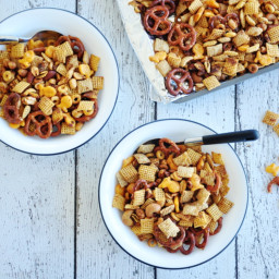 Julie's Extra Special Holiday Chex Mix