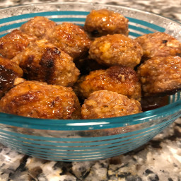 June's Firecracker Meatballs