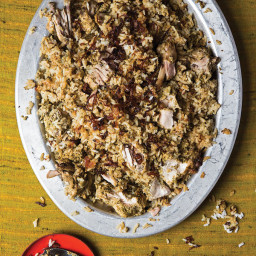 Kachi Yakhni Biryani (Hyderabadi-Style Steamed Chicken and Rice)