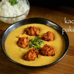 kadhi recipe | punjabi kadhi recipe | kadhi pakora recipe | kadi pakoda