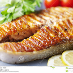 Kai's grilled salmon